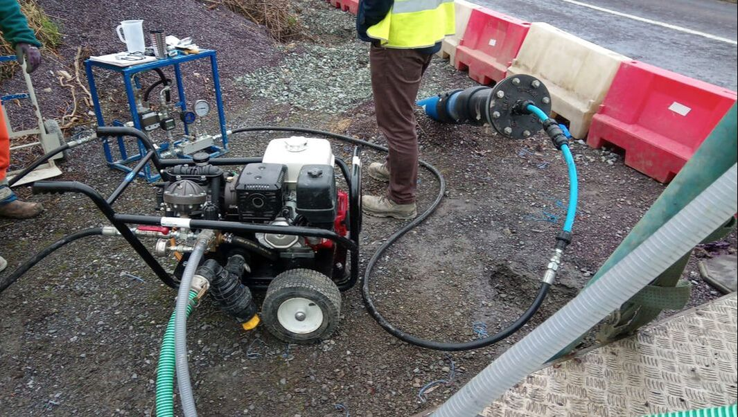 Irish Water Mains Pressure Testing Eng Tech Services