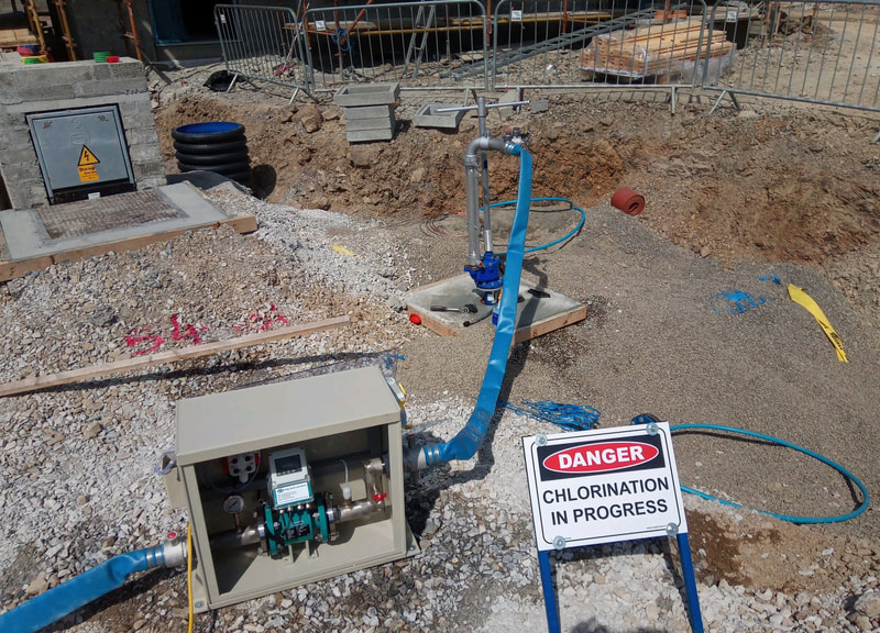 Water Main Chlorination / Sterilisation